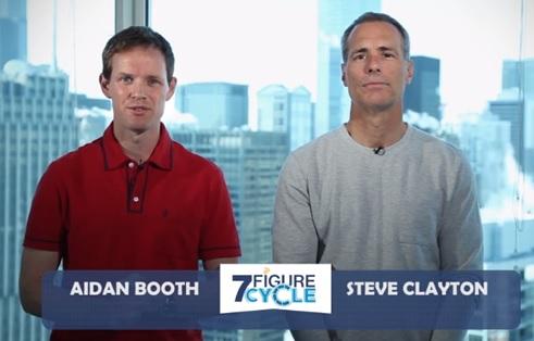 Aidan Booth and Steve Clayton