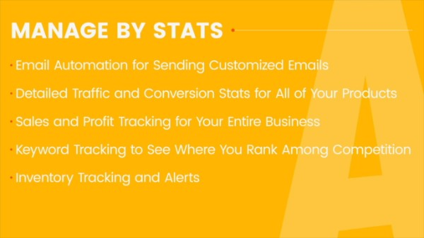 Stats in Amazing Selling Machine X