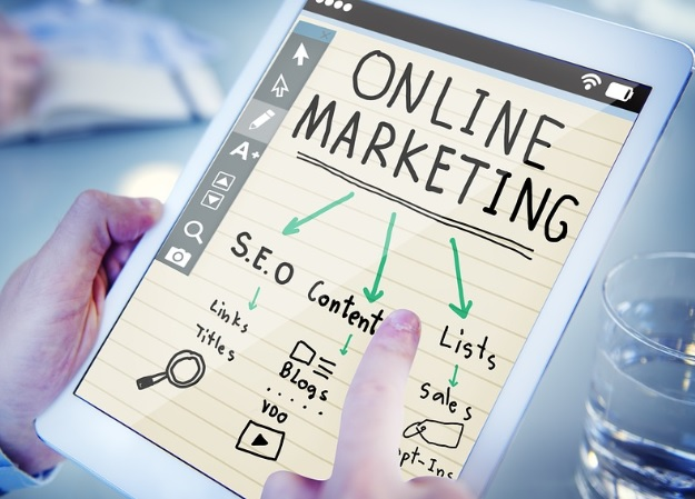 media in online marketing