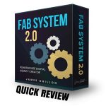 FAB System 2.0 + REVIEW - Is this worth your time and $$?