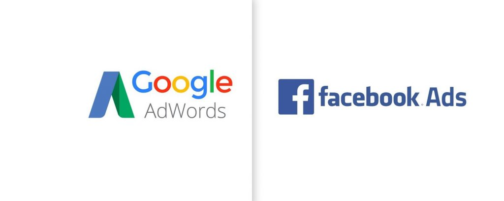 Facebook or Google to promote