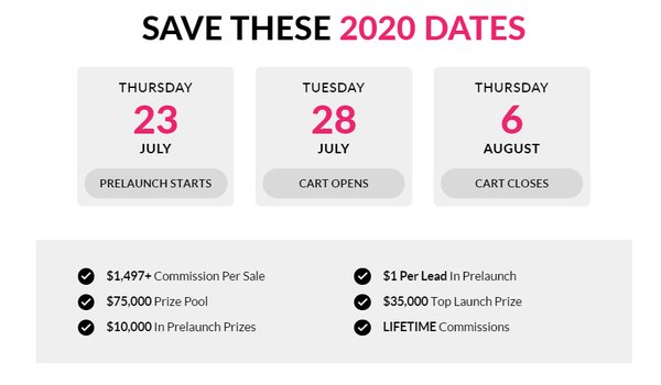 Save The Dates For the Asigo Launch