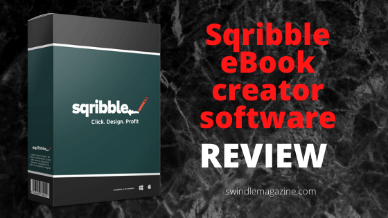 Sqribble eBook creator review