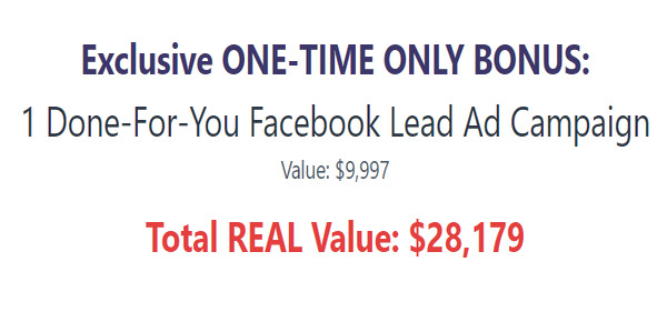 Done For You FB Ad Campaign