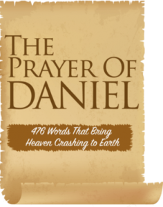 prayer of daniel