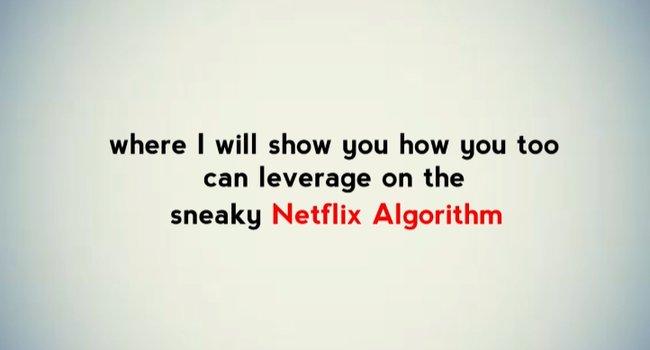 Secret Netflix Algorithm