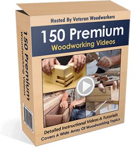 150 premium videos by woodworkers