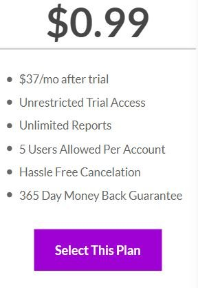 3-day trial price