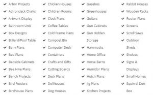 categories of plans