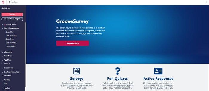 groovesurvey