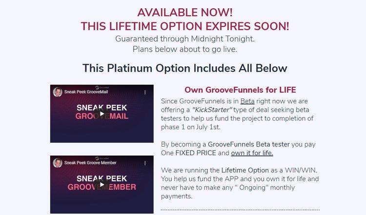 platinum offer