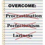 Perfectionism: Self-help for Lazy Procrastinators